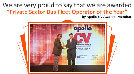 Orange Tours & Travels - Apollo CV Award